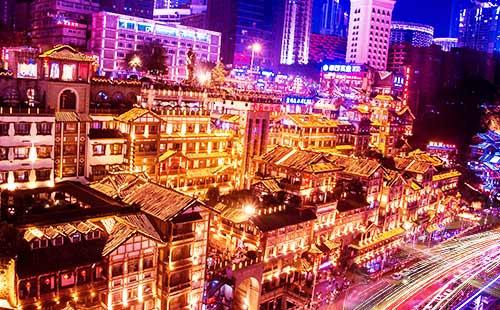 重庆市内、武隆天生三桥、龙水峡地缝精华二日游魔幻网红重庆