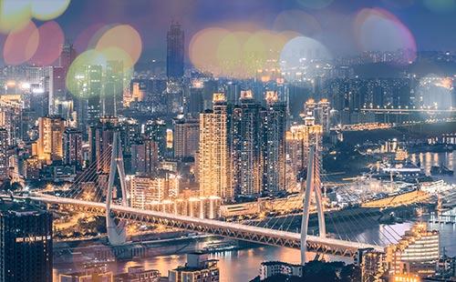 重庆两江夜游2
