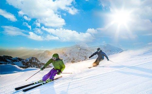 石柱冷水滑雪