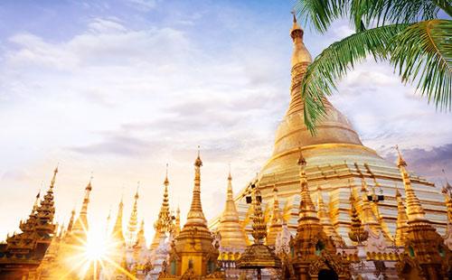缅甸曼德勒+蒲甘+内比都三城5/6日游蒲遇皇都