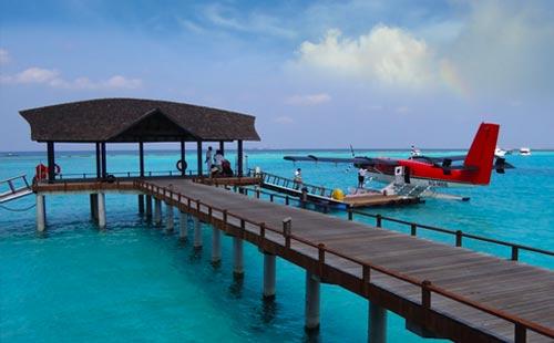 马尔代夫伊露岛自由行7日游一价全含