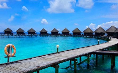 重慶直飛馬爾代夫7天5晚自由行[藍色美人蕉]<2沙2水+免費夜釣>一價全含