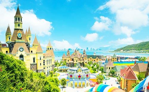 [旅拍0自费]越南芽庄双飞5-6日游<海边酒店+珍珠岛+珊瑚岛出海>花漾芽庄