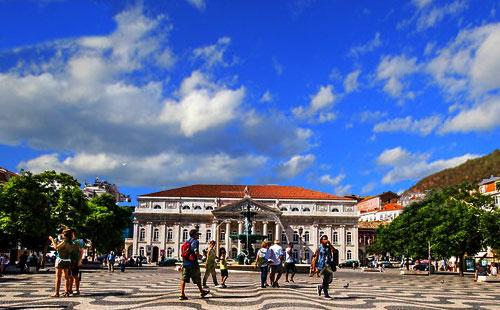 葡萄牙罗西欧广场