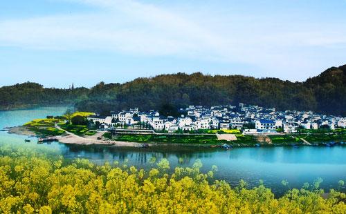 黄山新安江山水画廊