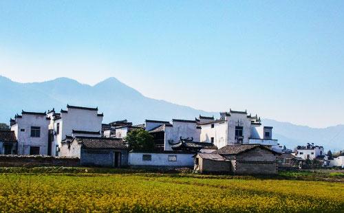 黄山南屏村