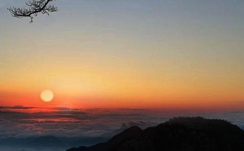 黄山丹霞峰