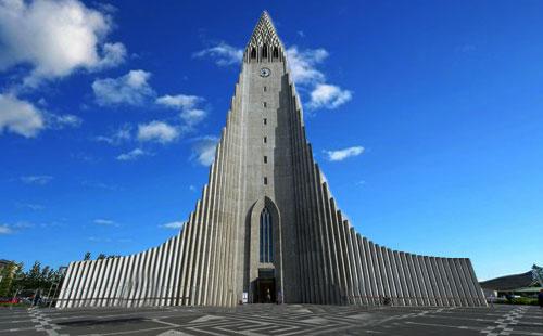 冰岛雷克雅未克大教堂