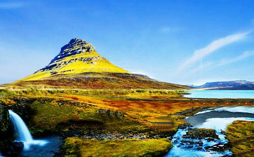 冰岛教会山