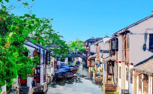 【純玩】華東五市<上海+蘇州+杭州+南京+無錫>+烏鎮西柵+拈花灣雙飛6日游臻品江南