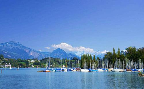 瑞士卢塞恩湖