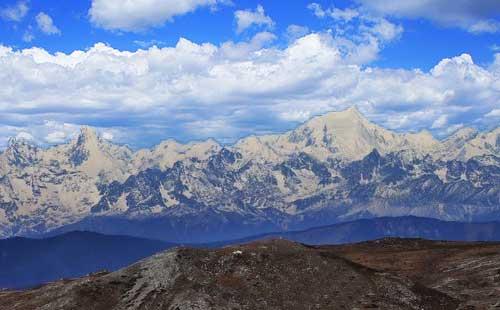 香格里拉石卡雪山