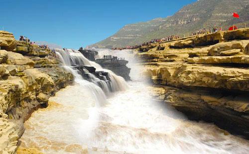 西安兵马俑、壶口瀑布、黄帝陵、延安、明城墙双卧6日游西安夕阳红旅游