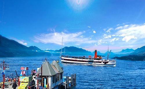 新西兰-瓦卡蒂普湖