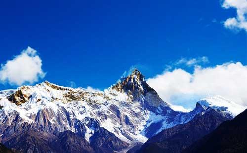 林芝南迦巴瓦峰