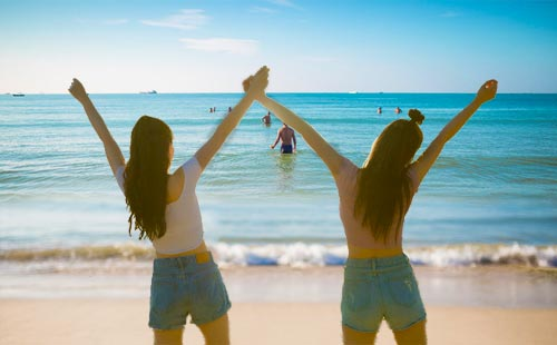 海南亚龙湾-呀诺达-亚特兰蒂斯水世界纯玩双飞5日游肆野的青春 流浪计划