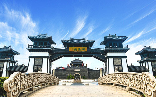 華東旅游_春秋城池遺址_春秋淹城景區