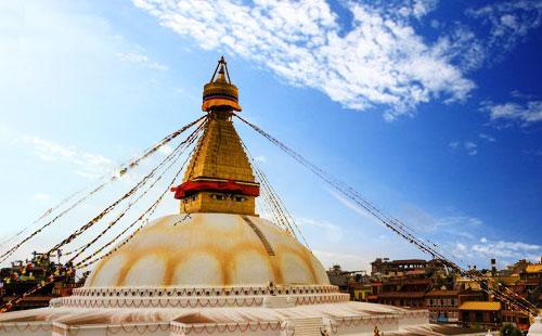 尼泊尔博达哈大佛塔