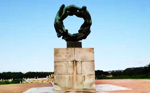 挪威维格兰雕塑公园