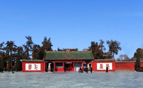洛阳关林庙