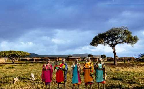 肯尼亚马赛村