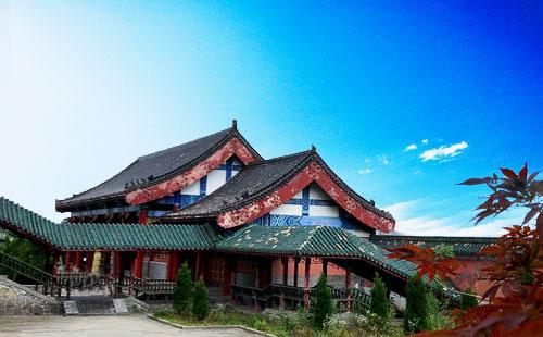 张家界天门山寺