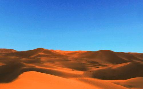 内蒙古库布齐沙漠