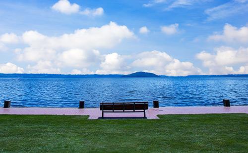 新西兰罗托鲁瓦湖2