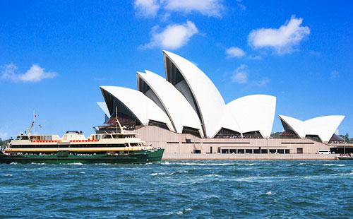 悉尼歌剧院-澳大利亚1