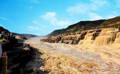黄河壶口瀑布2