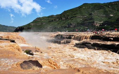 黄河壶口瀑布