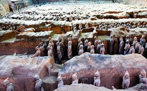 秦始皇兵马俑博物馆2