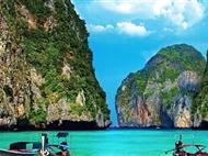 泰国普吉岛欢乐之旅7日游<出海珊瑚岛+私人海滩酒店+0自费>