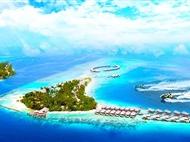 马尔代夫【波杜希蒂】自由行双飞7天5晚<2晚泳池沙屋+2晚泳池水屋+可升级一价全包>