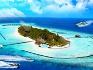 马尔代夫自由行双飞7日游【白雅湖】<4晚标准房+快艇上岛+早中晚餐>