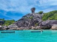 普吉岛-斯米兰-甲米-海豚岛双飞6日游<5+1自由行+2天出海游+豪华双体帆船>
