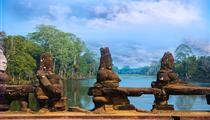 柬埔寨金邊+吳哥精品雙城雙飛6日游