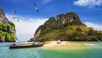 普吉岛PP岛-珊瑚岛-帝王岛双飞6日游<快艇出海+全程0自费+浮潜>