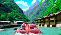 重庆佛影峡漂流-探险森林溯溪谷品质一日游