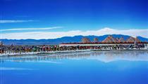 青海湖、茶卡天空壹號、塔爾寺、原子城、金銀灘品質雙飛4日游