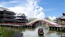 华东六市<上海、苏州、杭州、南京、无锡、扬州>、鼋头渚、沙家浜双飞6日游<0购物+双园林双水乡>