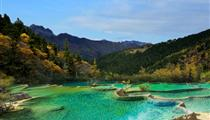 黃龍、花湖、月亮灣雙汽五日游