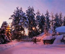 芬兰极光+所慕滑雪+圣诞老人村10日游<川航成都直飞>