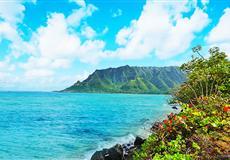 美国夏威夷·欧胡岛<小环岛精华游+珍珠港+市区游览+威基基海滩>8天半自由行