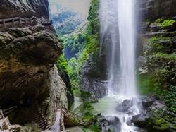 武隆仙女山、天坑三桥、龙水峡地缝钻石VIP纯玩2日游<指定地方免费接>