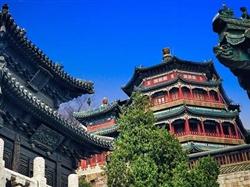 北京天安门-故宫-长城-恭王府-颐和园双飞五日游<0购物0自费含2景交>