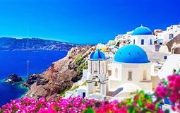 希腊一地圣托里尼岛+米克诺斯岛8日半自由行深度游