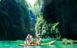彭水阿依河峡谷观光+牛角寨+九黎城二日游