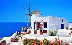 [QR一价全含]希腊一地半自由行8日游<雅典五星酒店+圣岛悬崖酒店>