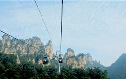 张家界森林公园-玻璃廊桥火车双座4日游